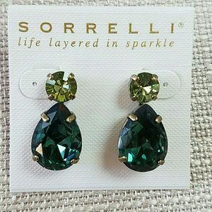 Sorrelli Gem Pop Earrings Green
